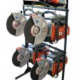 Dolmar Concrete Saw Display
