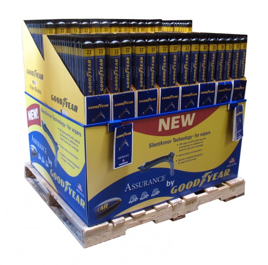 Goodyear Costco Pallet Display