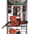 Redzaw Concrete Chainsaw Floor Display